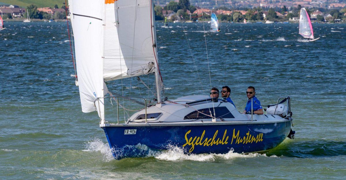 Segelschule Murtensee – Vermietung, Segelboote