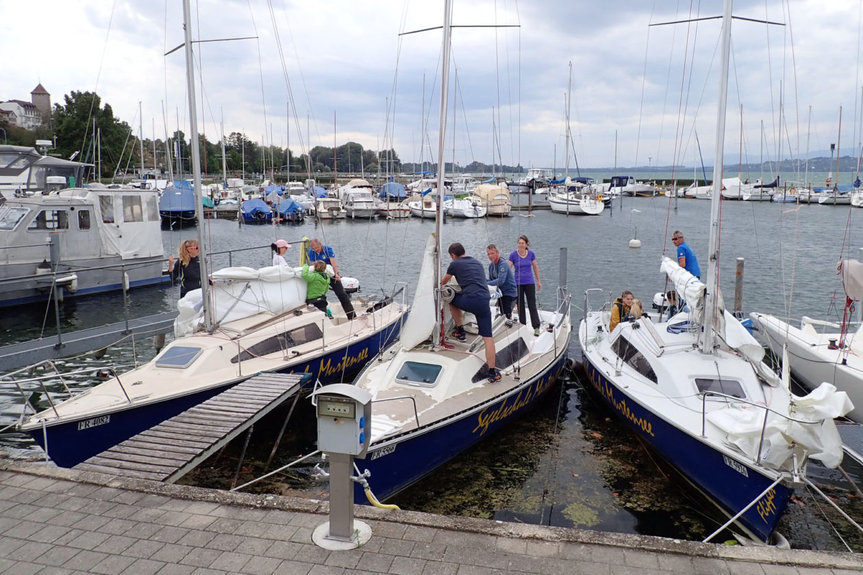 Segelschule Murtensee – Saisonstart 2019