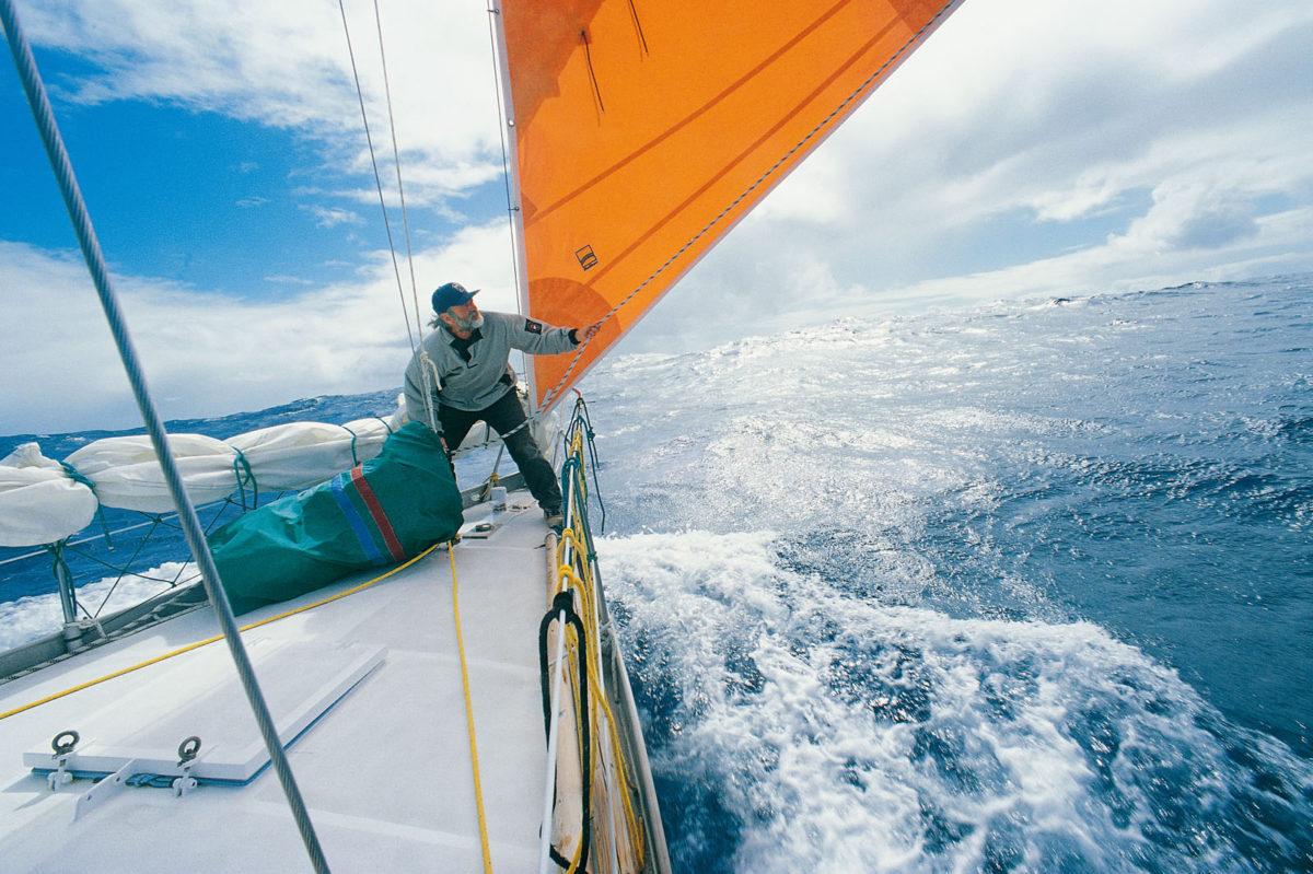 Wilfried Erdmann »Allein gegen den Wind«